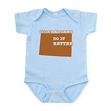 Coloradoans Do It Better Infant Bodysuit