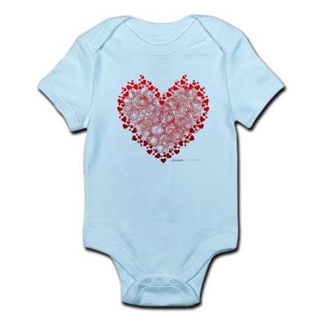 Heart Circles Infant Bodysuit