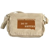 South Dakotans Do It Better Messenger Bag