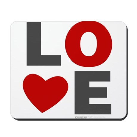 Love Heart Mousepad
