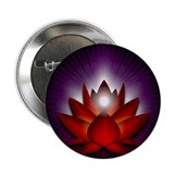 "Red ""Root"" Chakra Lotus 2.25"" Butto"