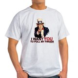 Cute Pull my finger T-Shirt