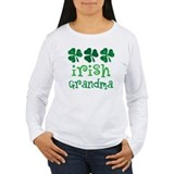 Irish Grandma Shamrock T-Shirt