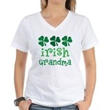 Irish Grandma Shamrock Shirt