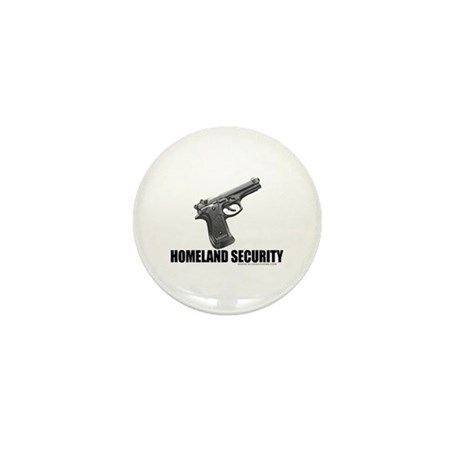 Homeland Security Mini Button