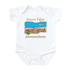 Israel Jews for Jerusalem Infant Creeper