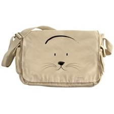 Cute Seal Face Messenger Bag