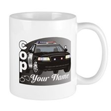 Custom Personalized Cop Mug