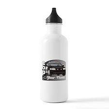 Custom Personalized Cop Water Bottle