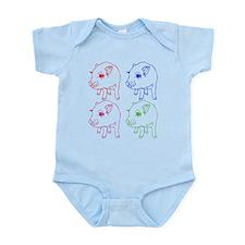 MINI PIG Infant Bodysuit