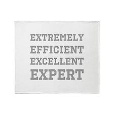 Expert - Slogan. Throw Blanket