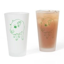 MINI PIG Drinking Glass