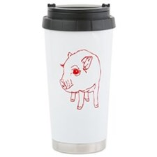 MINI PIG Ceramic Travel Mug