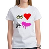 I Heart Teacup Pigs Tee