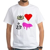 I Heart Teacup Pigs Shirt