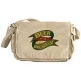 Breakfast Beer Messenger Bag