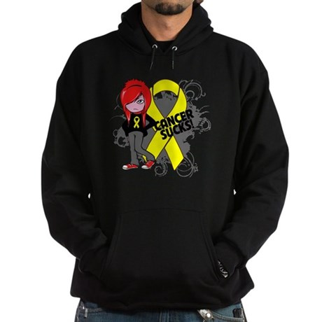 Testicular CANCER SUCKS Hoodie (dark)