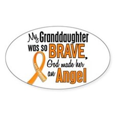 Granddaughter Leukemia Shirts and Apparel Stickers
