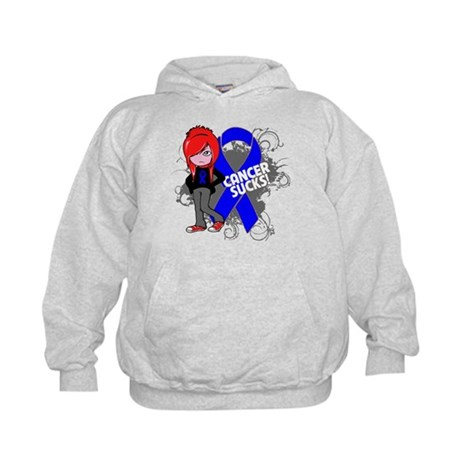 Rectal CANCER SUCKS Kids Hoodie