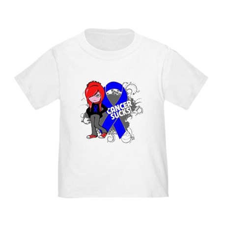 Rectal CANCER SUCKS Toddler T-Shirt