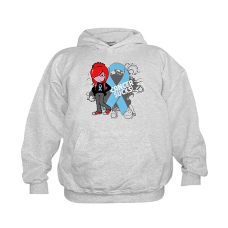 Prostate Cancer SUCKS Kids Hoodie
