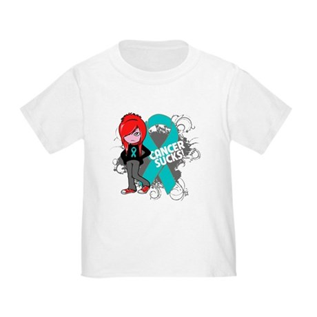 Ovarian Cancer SUCKS Toddler T-Shirt