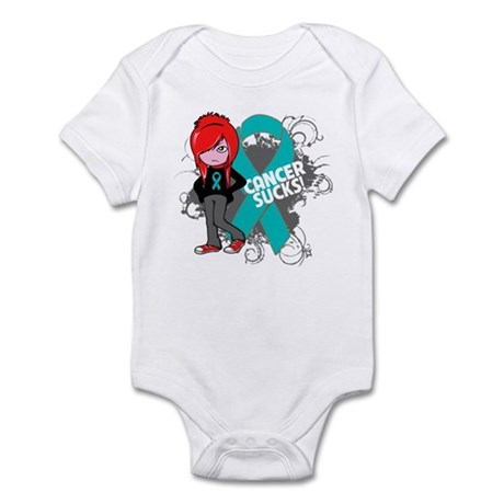 Ovarian Cancer SUCKS Infant Bodysuit