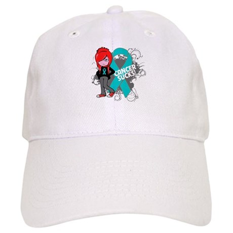 Ovarian Cancer SUCKS Cap