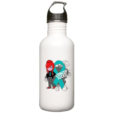 Ovarian Cancer SUCKS Stainless Water Bottle 1.0L