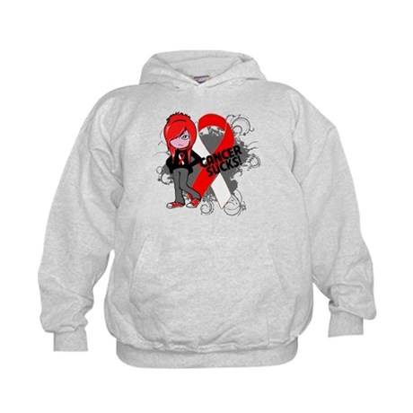 Oral CANCER SUCKS Kids Hoodie