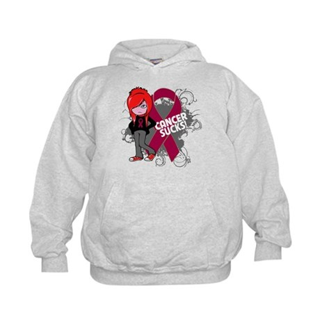 Myeloma CANCER SUCKS Kids Hoodie