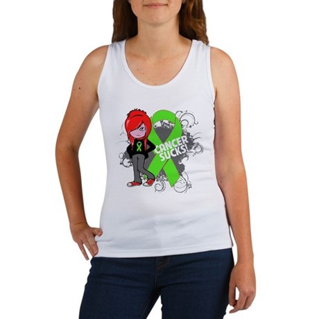 Lymphoma CANCER SUCKS Women's Tank Top