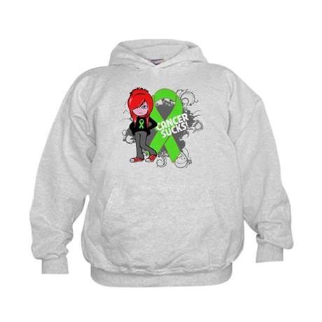 Lymphoma CANCER SUCKS Kids Hoodie
