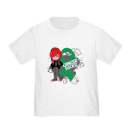Liver CANCER SUCKS Toddler T-Shirt