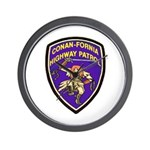 Conan-Fornia Highway Patrol Wall Clock