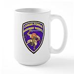 Conan-Fornia Highway Patrol Large Mug