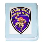 Conan-Fornia Highway Patrol baby blanket