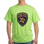 Conan-Fornia Highway Patrol Green T-Shirt