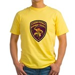 Conan-Fornia Highway Patrol Yellow T-Shirt