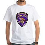 Conan-Fornia Highway Patrol White T-Shirt