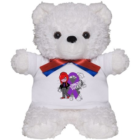 Leiomyosarcoma CANCER SUCKS Teddy Bear