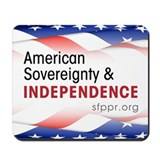 American Sovereignty & Independence Mousepad