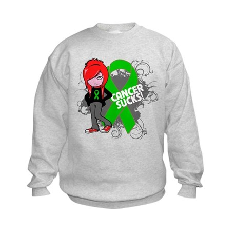 Kidney CANCER SUCKS Kids Sweatshirt