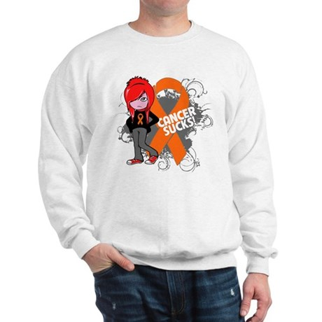 Kidney CANCER SUCKS Sweatshirt