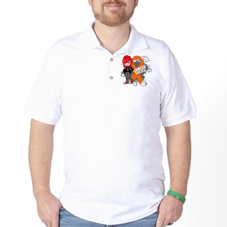 Kidney CANCER SUCKS Golf Shirt