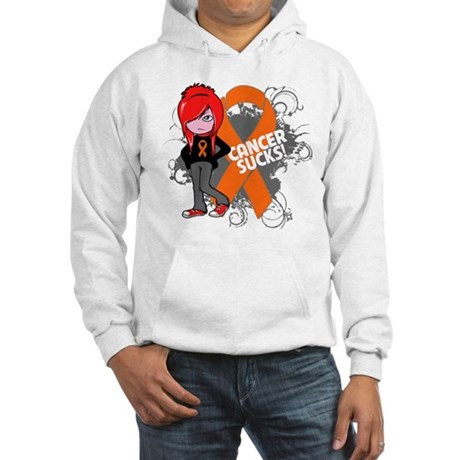 Kidney CANCER SUCKS Hooded Sweatshirt