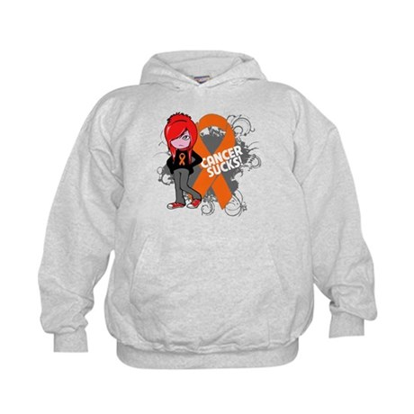 Kidney CANCER SUCKS Kids Hoodie