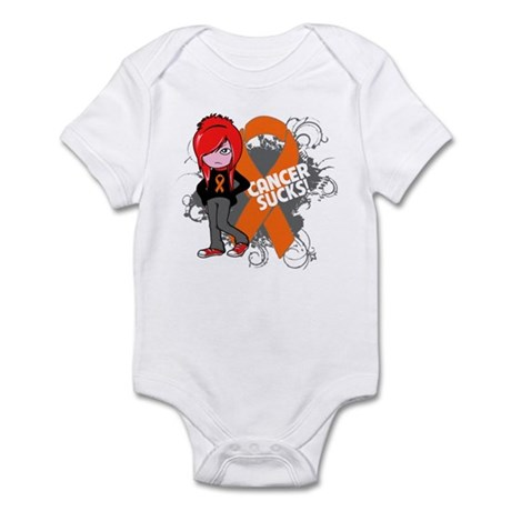 Kidney CANCER SUCKS Infant Bodysuit
