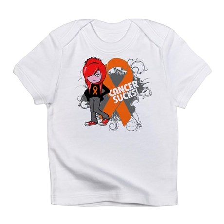 Kidney CANCER SUCKS Infant T-Shirt