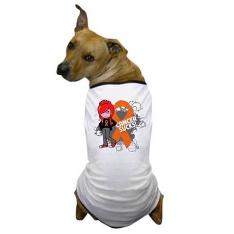 Kidney CANCER SUCKS Dog T-Shirt